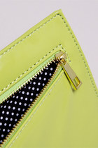 Neon Clutch Thrifted & Modern Bags
