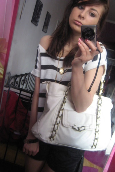 white Primark purse - white