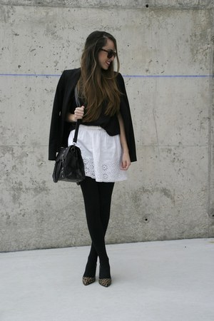 OASAP bag - Stradivarius skirt - Marypaz heels