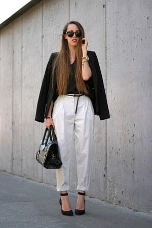 Zara blazer - Zara pants - Deichmann heels