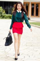 H&M shirt - Charlotte Russe skirt