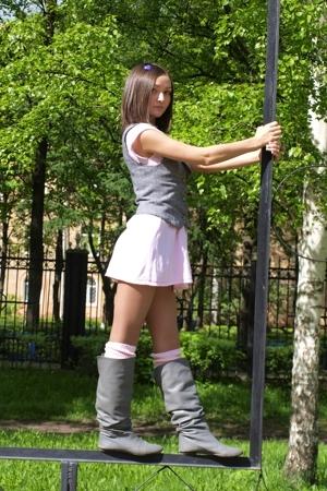 Zara dress - kira plastinina vest - Calzedonia socks - Zara boots - noname acces