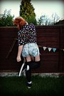 Light-blue-bleached-denim-diy-shorts-black-converse-new-look-shoes