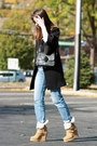 Ash-boots-juicy-couture-coat-j-brand-jeans