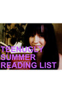 Summer Reading List!