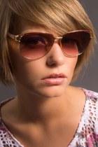 Pink-yves-st-laurent-sunglasses