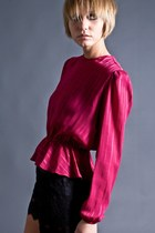 Sheer-peplum-telltale-hearts-vintage-blouse