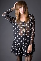 Black-sheer-polka-dot-telltale-hearts-vintage-dress