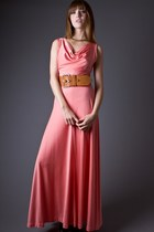 Peach-telltale-hearts-vintage-dress