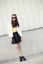 Zara sweater - Zara blazer