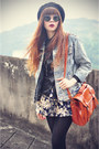 Denim-jacket-poppy-lover-jacket-awwdore-shirt-udobuy-bag-sunglasses