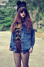 Denim-jacket-choies-jacket-choies-boots-leopard-print-shorts