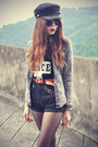 Peace-t-shirt-choies-shirt-round-sunglasses-cap-choies-hair-accessory