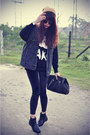 Leather-boots-sweater-leggings-vintage-denim-vest