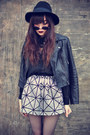 Lita-jeffrey-campbell-boots-hat-leather-motelrock-jacket-round-sunglasses
