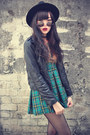 Pu-jacket-sheinside-jacket-leather-boots-o-mighty-dress-oasap-hat