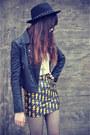 Forever-21-hat-leather-motel-rocks-jacket-round-glasses-lovelysally-skirt