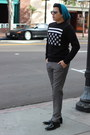 Hugo-boss-shoes-nordstrom-hat-h-m-sweater-ray-ban-sunglasses