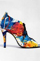 blue Bionda Castana heels