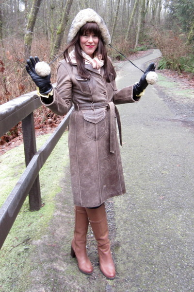 leather franco sarto boots