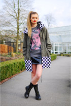 The Left bank by Hardy Punglia coat - The Left bank by Hardy Punglia t-shirt