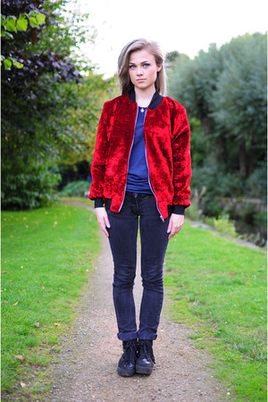 ruby red The Left bank by Hardy Punglia jacket