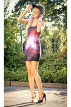 galaxy print romwe dress