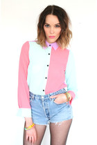 the pretty junk blouse