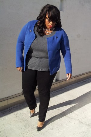 the gap jacket - Old Navy jeans - the gap t-shirt - 7 for all mankind pumps