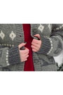 Heather-gray-romwe-cardigan-crimson-pringle-of-scotland-sweater