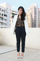 navy Topshop pants