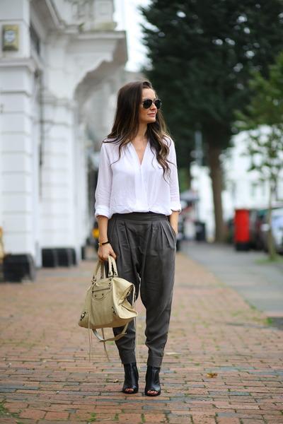 Zara shirt - Mango shoes - Zara pants