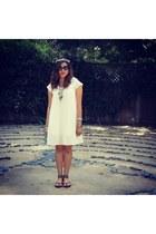 white Forever21 dress