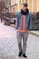 Levis jacket - weekday t-shirt - Cheap Monday pants