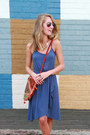 Navy-ann-taylor-dress-ruby-red-bag-light-brown-dv-dolce-vita-sandals