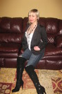 Dkny-blazer-forever-21-jeans-amiclubwear-boots