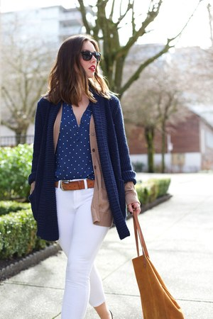 white skinny jeans Joe Fresh jeans - tawny suede Massimo Dutti bag