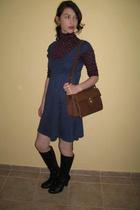 H&M dress - cala blouse - Secondhand purse - Aldo shoes
