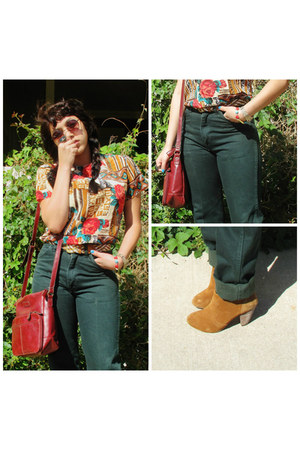 baker boots - Wrangler jeans