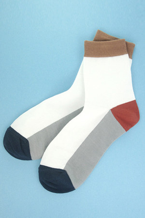 white TPRBT socks
