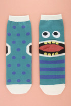 turquoise blue TPRBT socks