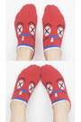 Red TPRBT Socks