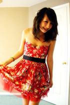 red Forever 21 dress