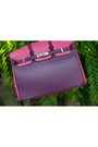 Hot-pink-bag-purple-birkin-hermes-bag-brown-bought-in-india-dress