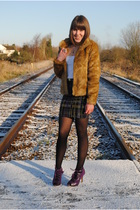 H&M coat - Matalan shoes - asos skirt