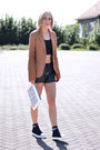 Bershka-blazer-zara-bag-river-island-shorts-asos-socks-asos-top