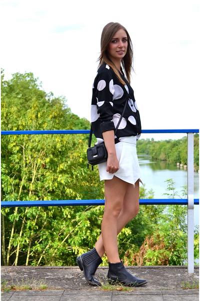 Zara shorts - H&M blouse