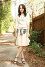 Heather-gray-worn-as-skirt-bcbg-dress