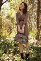 tan vintage httpstoresebaycomTwitchVintage dress