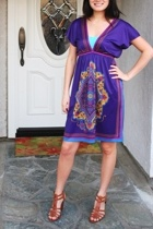 Swap Meet dress - aa bra - Ralph Lauren shoes